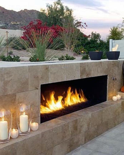 Fire Place Vertical Landscape Services In Dubai (2)
